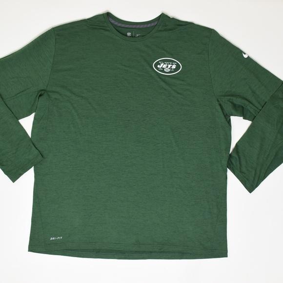 dfc963cf Nike Shirts   Nfl Dri Fit Ny Jets 3xl Green Casual Te   Poshmark